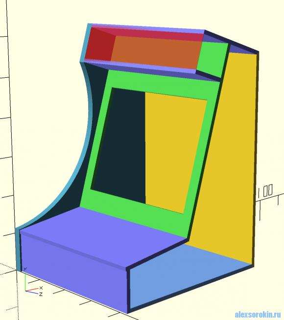 arcade bartop cabinet